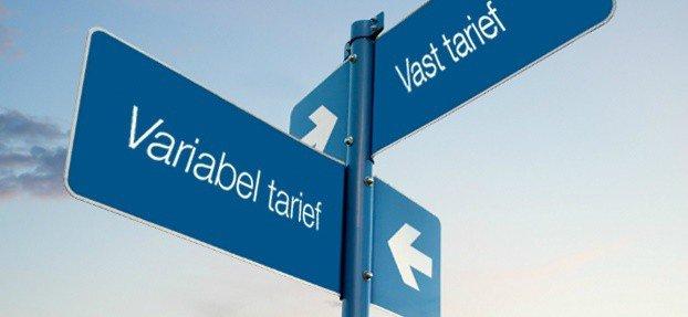vast of variabel tarief
