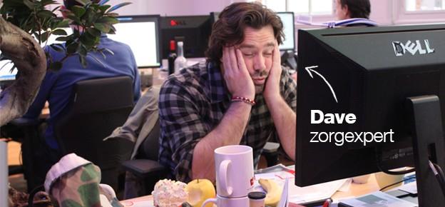 Zorgexpert Dave haalt nachten door