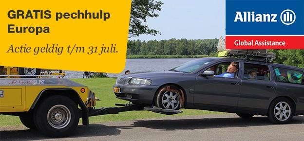 Pechhulp in Europa nu gratis bij overstappen autoverzekering