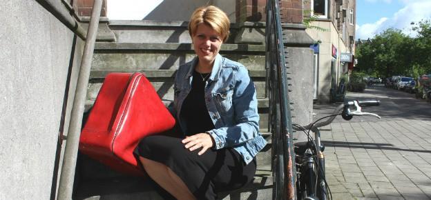 """Elles van Lent: """"Onze vakantie begint al in de auto"""""""