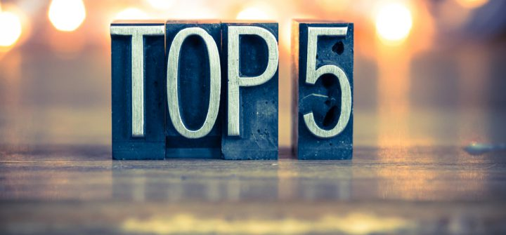 Dé top 5-blogs van september