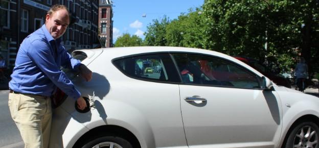 Bas gooide benzine in een dieseltank… twee keer in één week