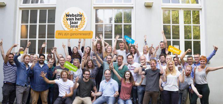 Yes! Pricewise opnieuw genomineerd voor Website van het Jaar