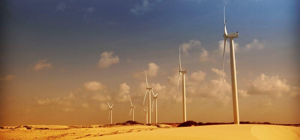 Windmolens in het buitenland