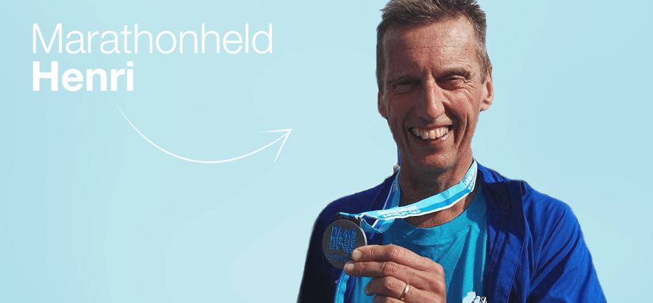 Marathonloper Henri kiest voor de zorgverzekering die bij hem past!