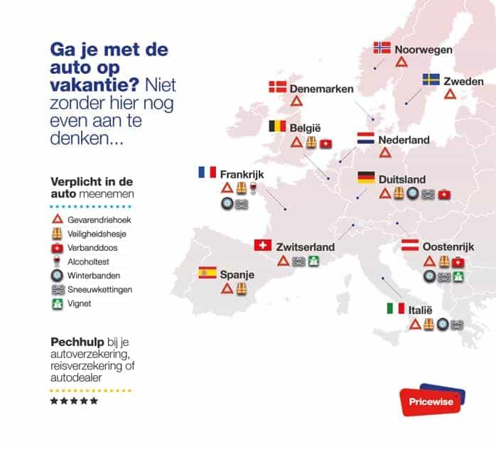 auto verplicht in europa