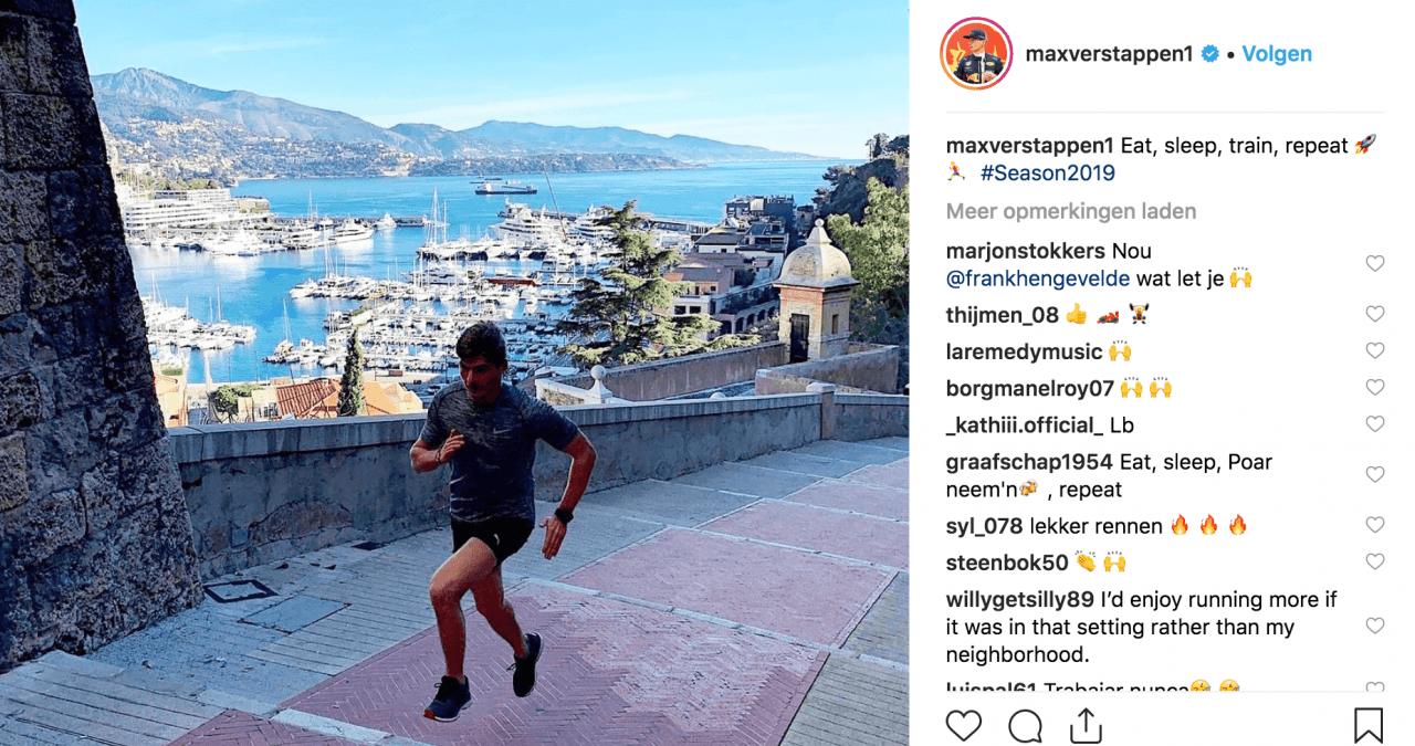 Bron: Instagram Max Verstappen